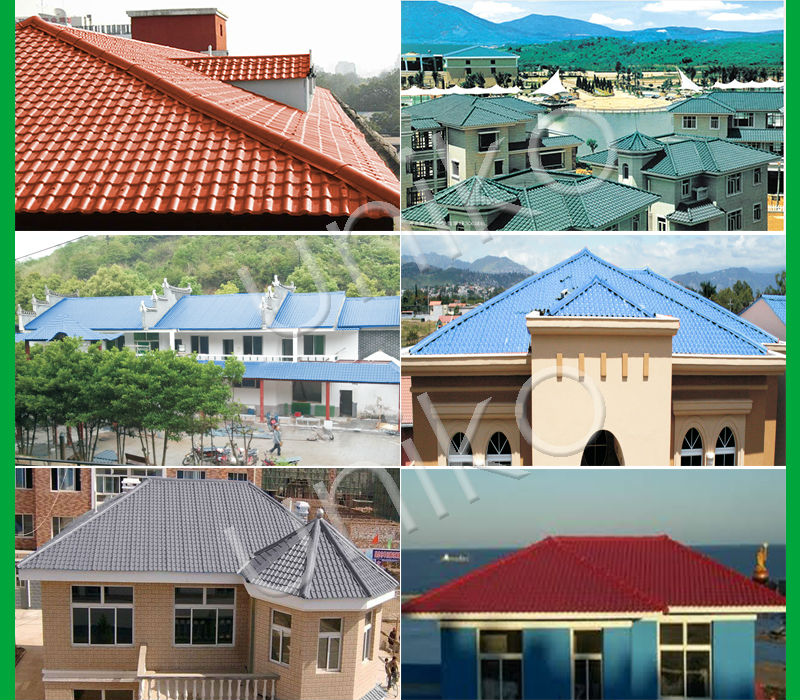 Mix Color Anti Uv Ray Best Roofing Materials New Rustic Roof Tiles For House