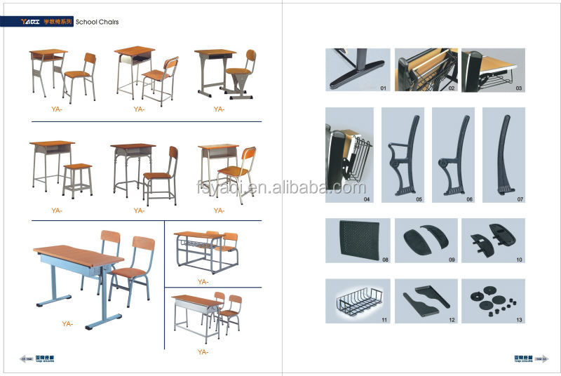 Classroom Furniture Dimensions ~ Commercial cheap price wood standard dimensions school