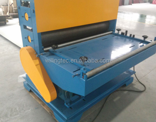 leather embossing roller machine