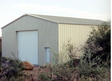 prefabricated industrial shed steel warehouse