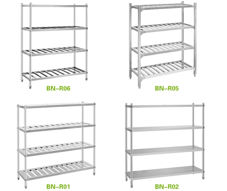 Restaurant Kitchen Storage stainless steel pantry racks