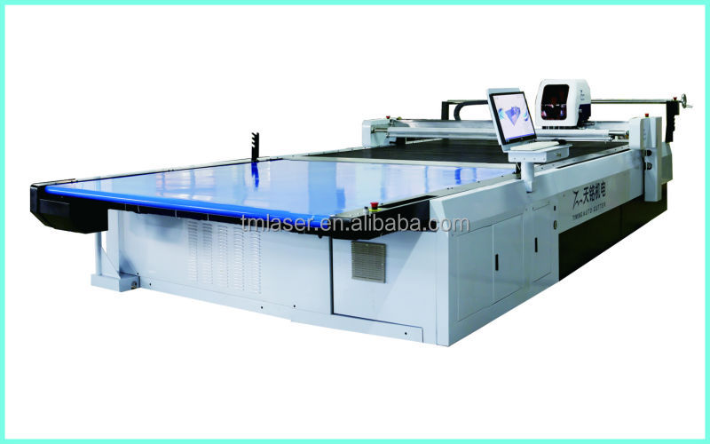 fabric die cutting machine industrial
