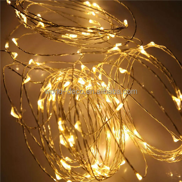 Micro Mini Led Christmas Lights / Waterproof Mini Led Copper Wire ...