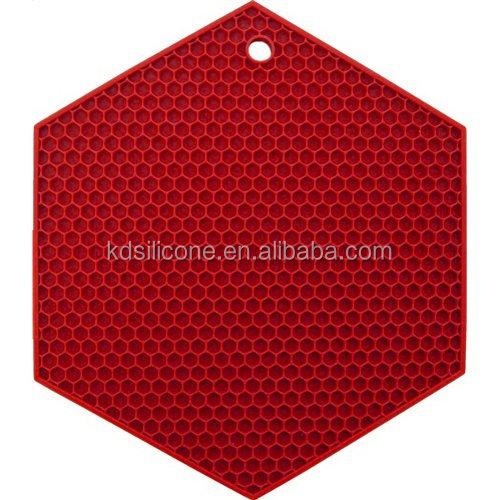 Honeycomb Design Silicone Mat Hexagon Honeycomb Trivet