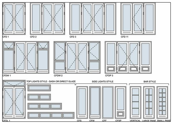 Wood grain aluminium doors and windows designs for Window design sketch