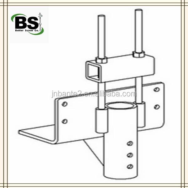 L Shaped Brackets >> Helical Pile Retrofit Bracket - Buy Helical Pile Bracket,Helical Piers & Push Piles,Utility ...