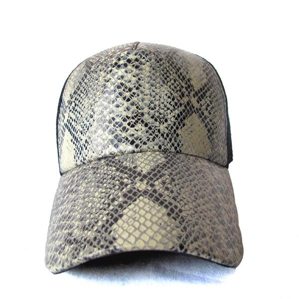 High Quality Snake Skin Baseball Cap Wholesale Mesh Trucker Caps ... a01cea3f5b8