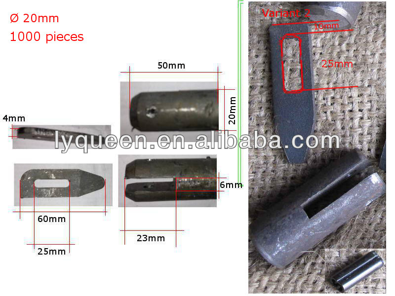 Scaffolding Snap Pin : Scaffolding hollow snap pin drop lock buy steel