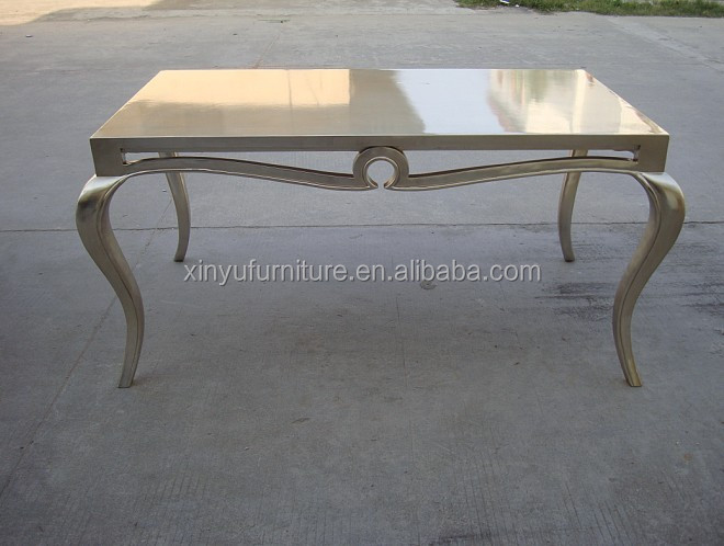 Neo Classical High Glossy Champagne Dining Table D1003. Neo classical High Glossy Champagne Dining Table D1003   Buy Neo