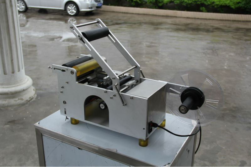 XT-50 semi auto shrink sleeve label machine manual bottle labeling machine for plastic