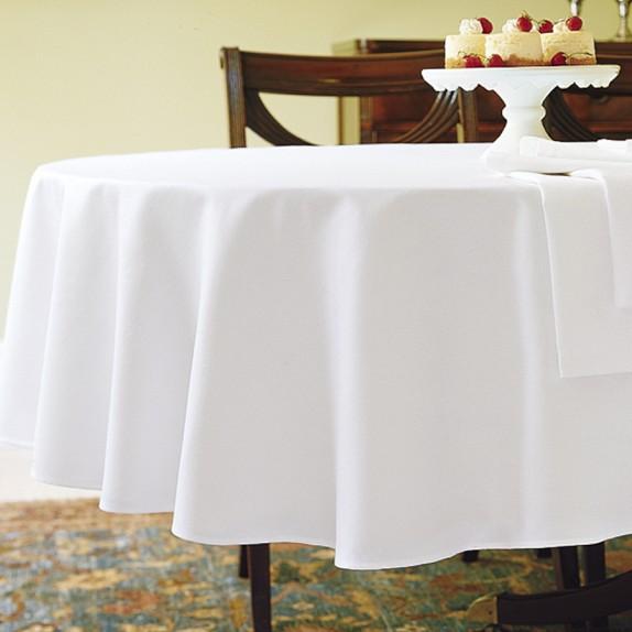 White Plain Table Cloth Wedding Table Cloth