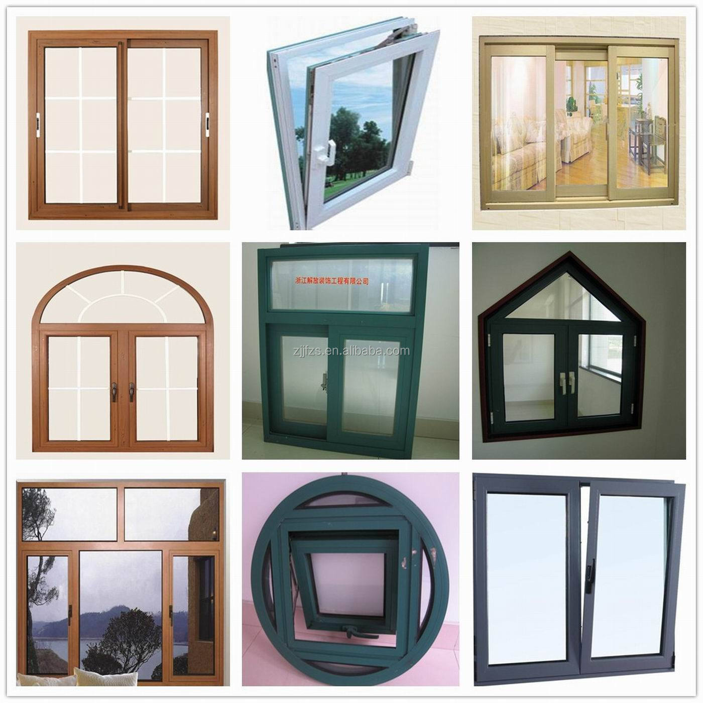 Sliding windows for homes - White Aluminum Sliding Windows With Screen Made In China Design Windows For Homes