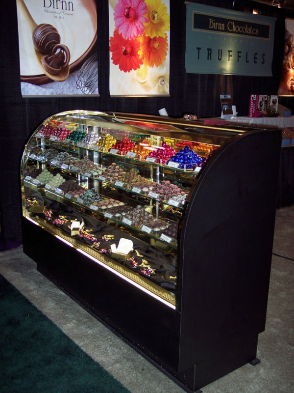 Glass Candy Chocolate Display Showcase Cabinet - Buy Funroad ...
