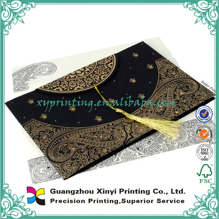 Oem Beautiful Custom Design Pakistan Wedding Cards Buy Pakistan