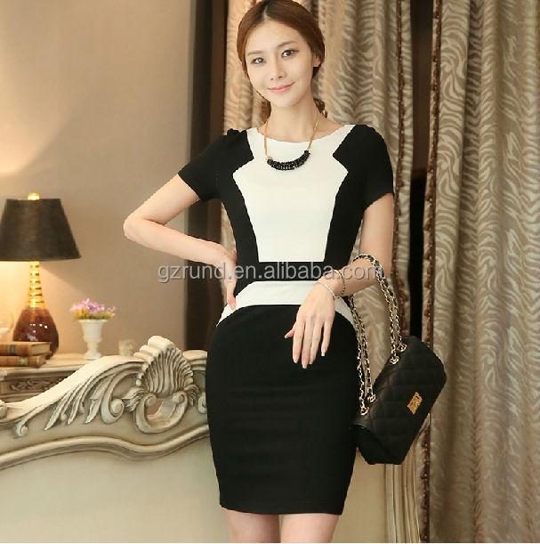Designer Trendy Fashion Work Dress.elegant Party Dresses Plus Size ...