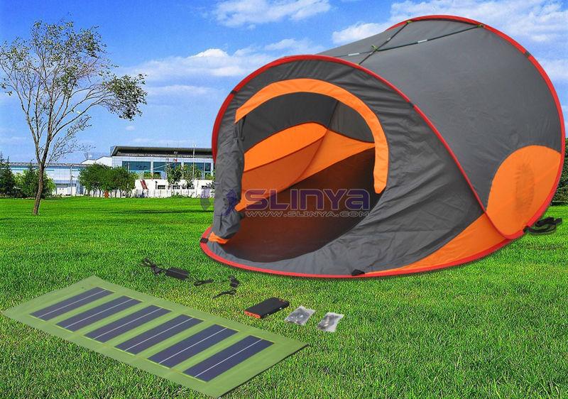 orange solar zelt