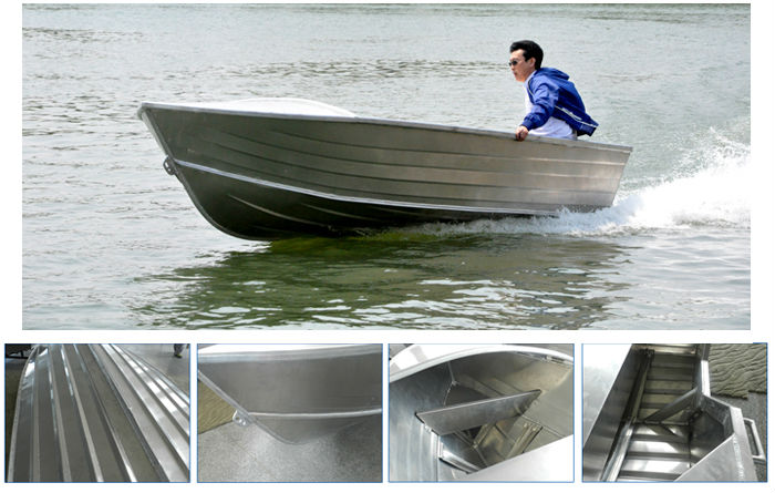 2015 fast speed deep v hull fishing aluminum jet powered for Deep sea fishing boat for sale