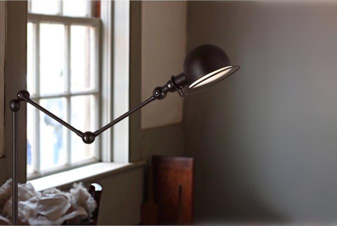Antique Flexible Arm Floor Lamp Indoor Floor Lamps