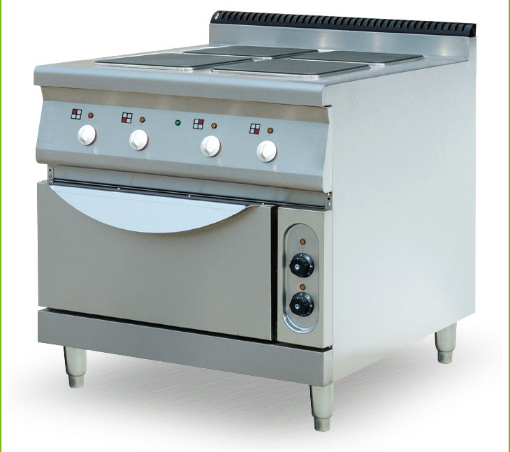 Restaurant Kitchen Oven wholesale commercial gas 4 burners cooking stove with cooking oven