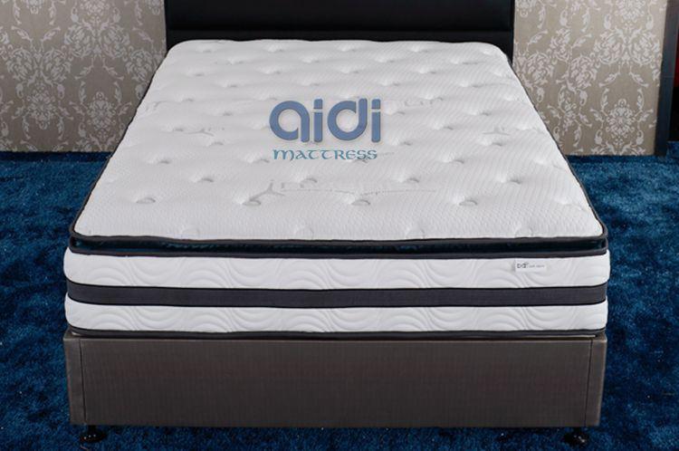 Luxury Pillow Top Design Visco Memory Foam Mattress Ag-1305