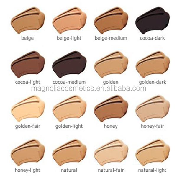 SPF 15 Face Liquid Foundation Makeup