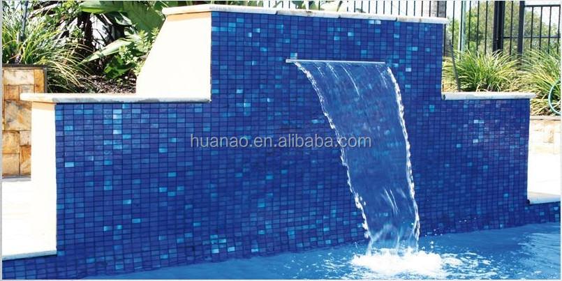Wholesale swimming pool water blade waterfall water for Chorros para piscinas precios