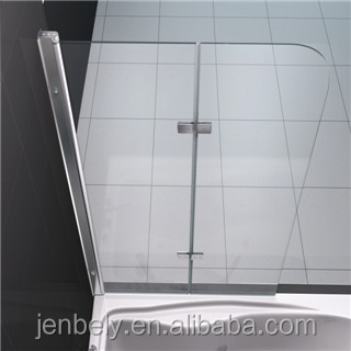 6mm half glass shower doors simple shower screen