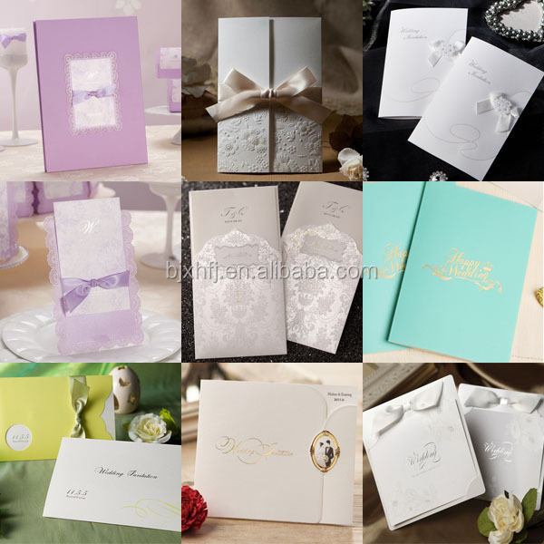 Custom A4 Size Christmas Birthday Wedding Greeting Paper Card ...