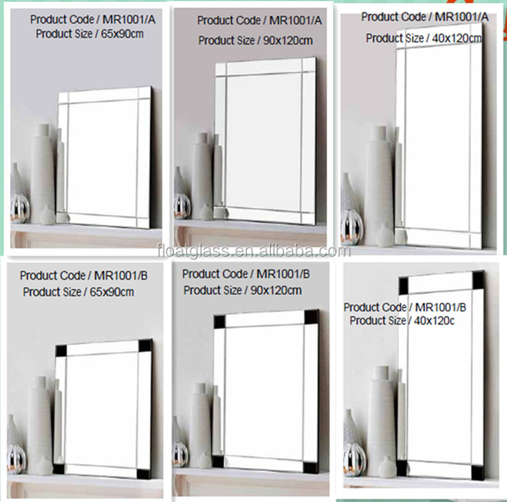 4 mm personnalis pas cher vanity d coratifs grand mur for Miroir 40x50 sans cadre