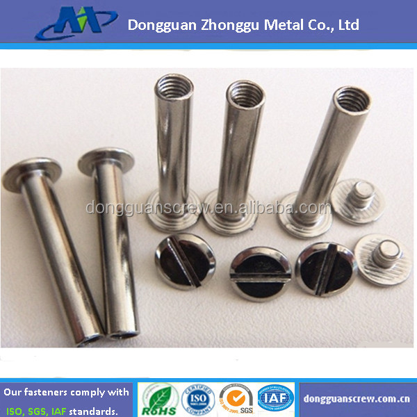 Good Quality Aluminium Sex Bolts With Open Hole Flat Head From ...