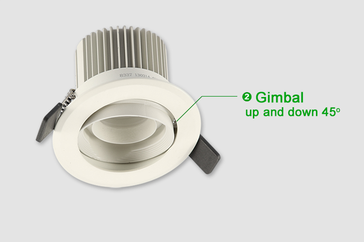 4w Multi Spot Zled Recessed Wall Light With Focus Function With ...
