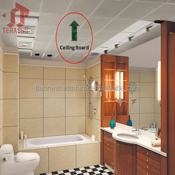 Fireproof Board Tile : Stereotypes about plasterboard bathroom ceiling that