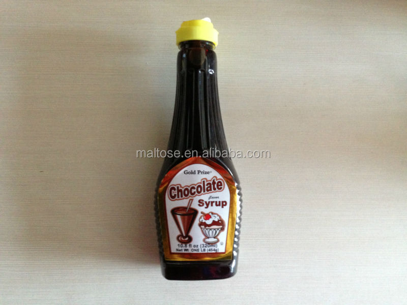hot sell high quality low price chocolate flavor syrup for ice cream and drinks