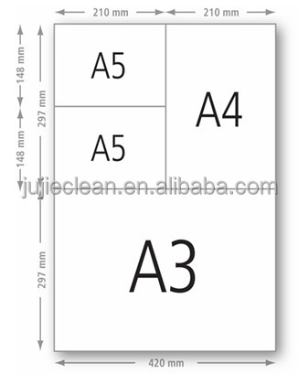pdf document a5 to printing a4