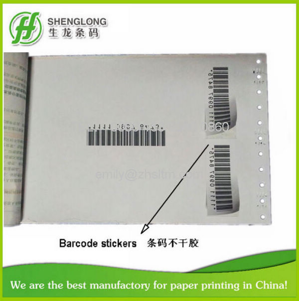 Photo)Free Sample,Loose-Leaf & Removable,Barcode Stickers,Air