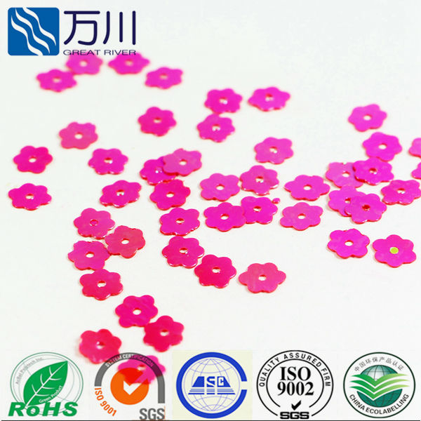 Flower sequins for shoe bag & garment