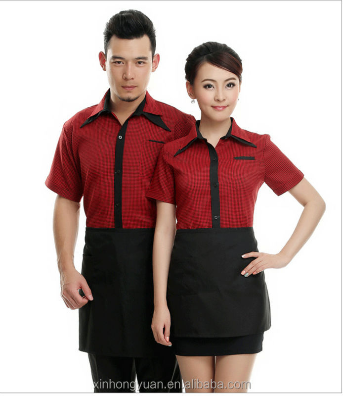 Restaurant waiter uniform designs buy