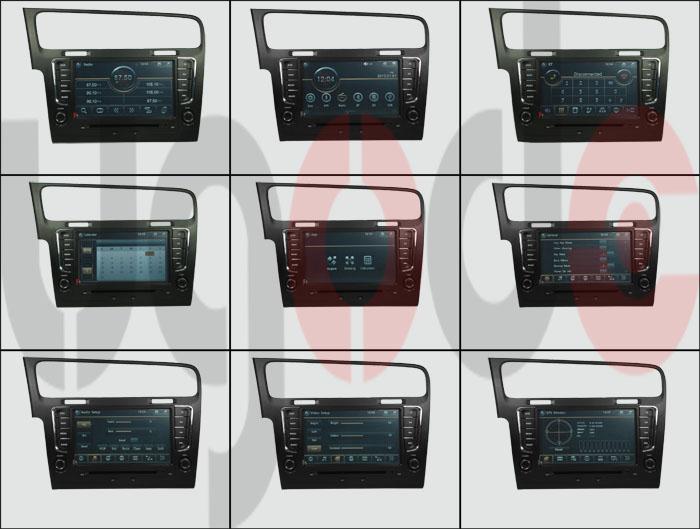 for vw golf 7 multimedia car audio system vw golf 7 gps vw golf 7 buy for vw golf 7. Black Bedroom Furniture Sets. Home Design Ideas