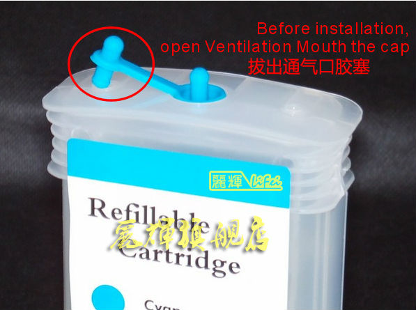 130ml Refill Ink Cartridge For Hp 72 Ink Cartridge For T1100 ...