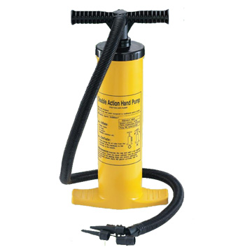Straight Line Dual Action Hand Air Pump