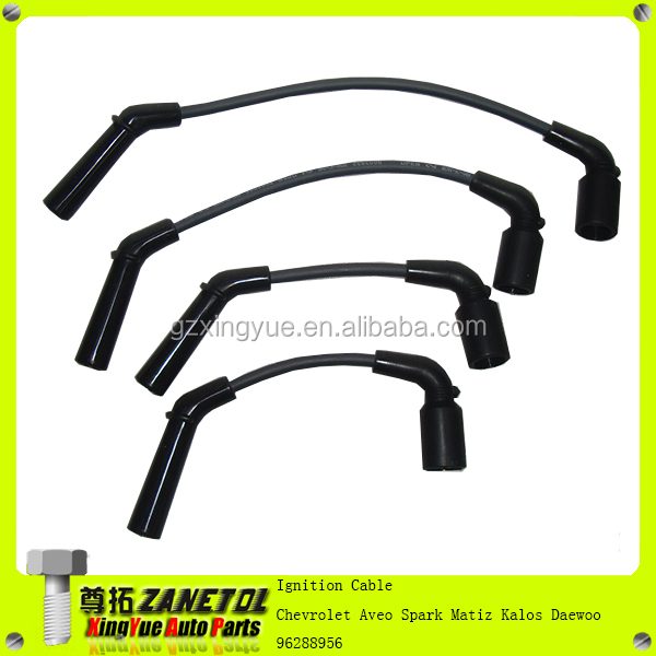 car auto ignition cable spark plug wire for chevrolet aveo. Black Bedroom Furniture Sets. Home Design Ideas