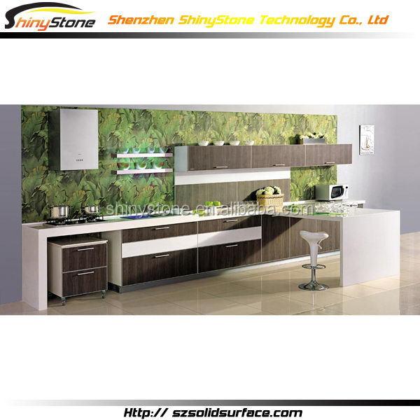 Obra Maestra Cafe Bar Acrílico Superficie Sólida Menards Gabinetes De Cocina - Buy Product on Alibaba.com