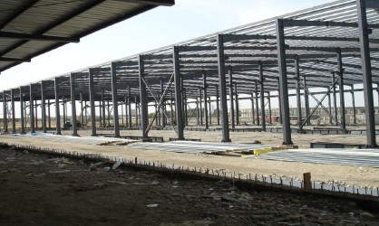 prefabricated steel warehouse with pretty price