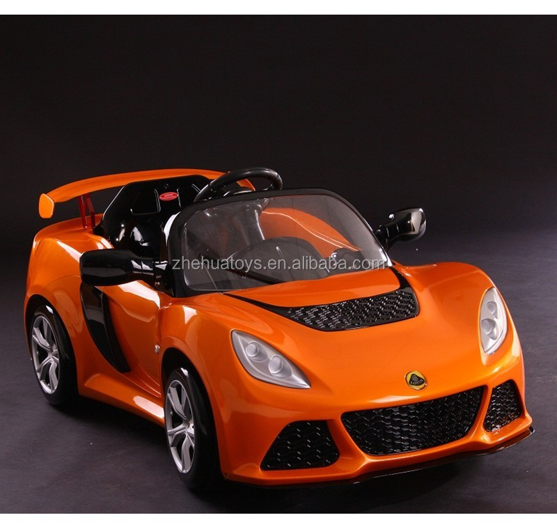6vlot kids plastic car electric car toy automatic toy ride on car with lotus exige