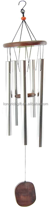 Wholesale Metal Wind Chime With Aluminium Pipe For Home Decoration / Birthday Gift