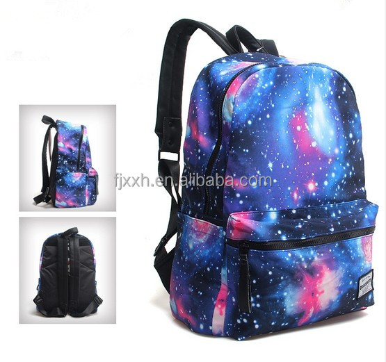 Vintage Boys Girls Canvas Backpack Leisure Satchel School Bag ...