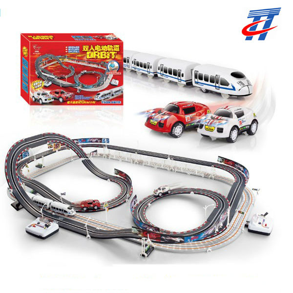 kids toy cars electric race track