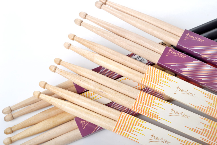 high quality antiskid 5a 7a size drum sticks view drum sticks deviser product details from. Black Bedroom Furniture Sets. Home Design Ideas