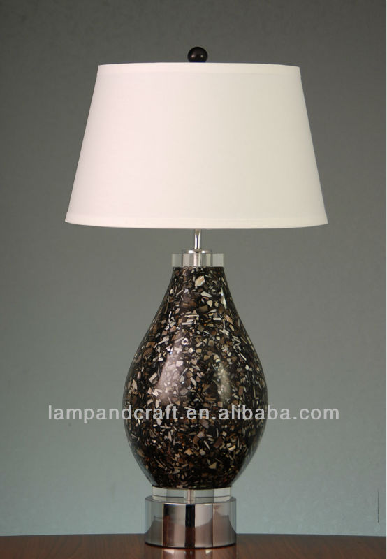 Arabia Dimond Indoor Cordless Led Table Lamps With Silk Shade For ...