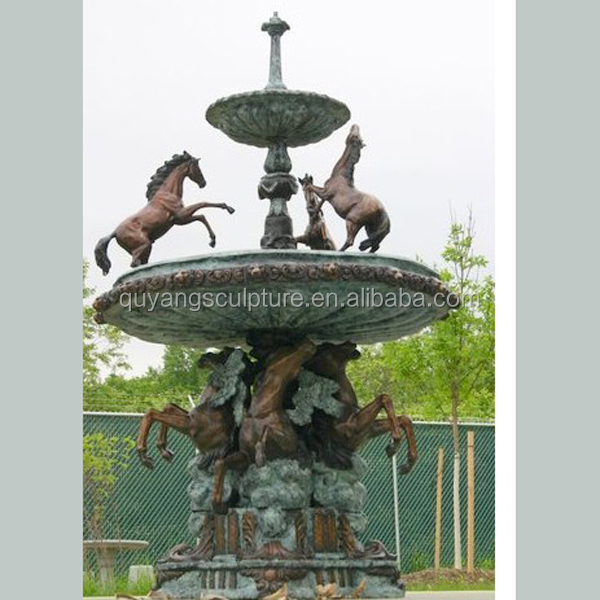 Large Bronze Fountain